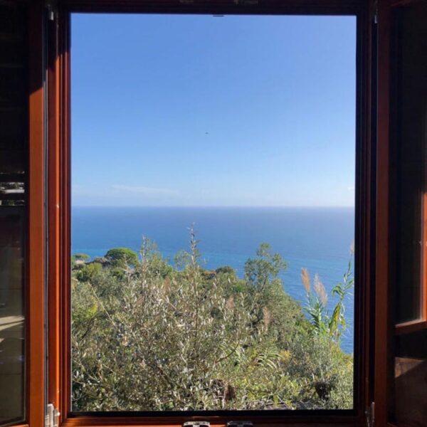 finestra sul mare di Portofino ecofarm