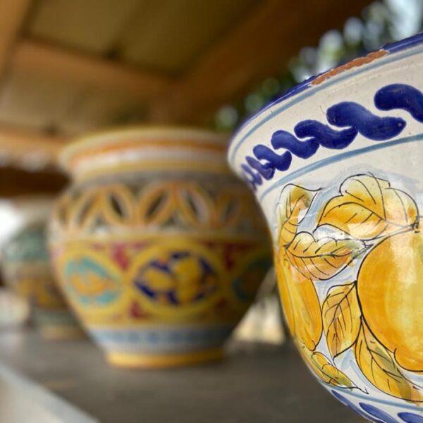 vasi in ceramica ecofarm di Portofino