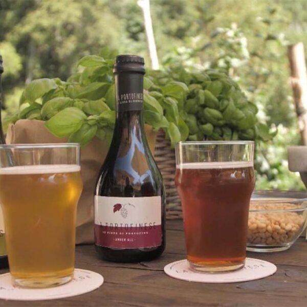 la birra di Portofino birra chiara e scura di Portofino