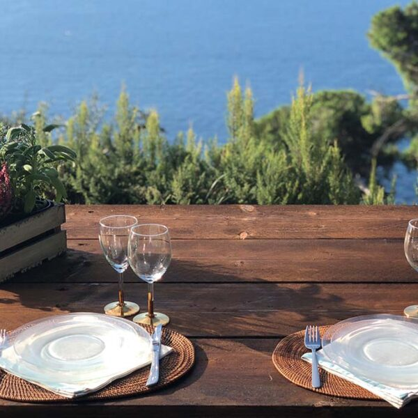 picnic pranzo prodotti tipici del monte di Portofino