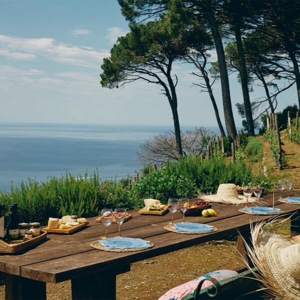 Picnic Portofino ecofarm kilometro zero