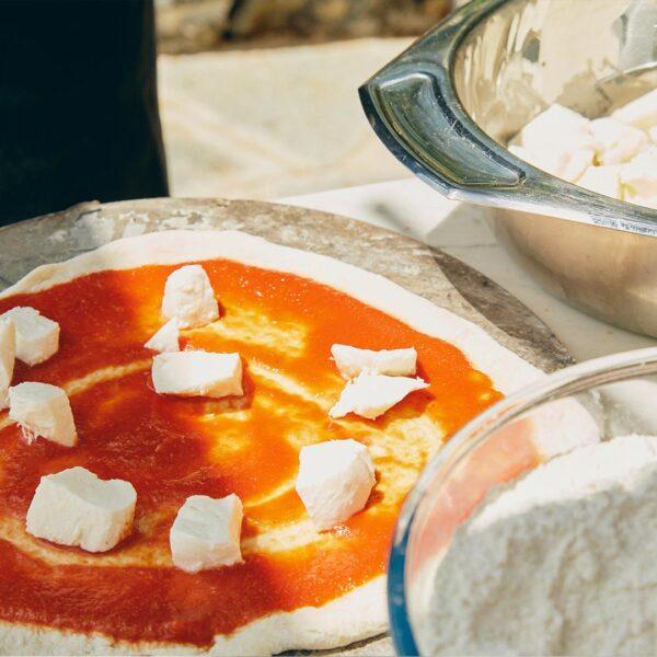 Pizza e focaccia scuola di cucina monte di Portofino