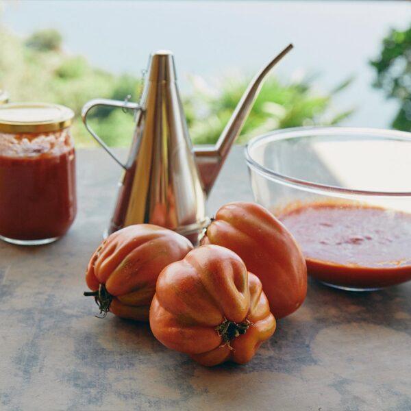 salsa di pomodoro di Portofino ecofarm