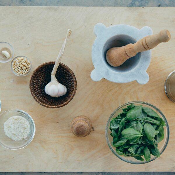 scuola di cucina Portofino pesto liguria